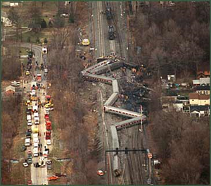1987-01-04 - Chase, Maryland Rail Wreck