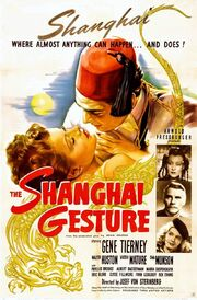 1941 - The Shanghai Gesture Movie Poster