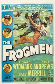 1951 - The Frogmen Movie Poster