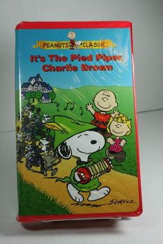 File:It's The Pied Piper Charlie Brown VHS.jpg