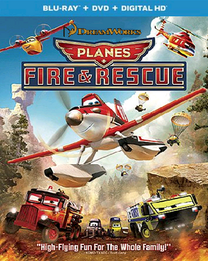 Dreamworks planes fire and rescue universal blu-ray