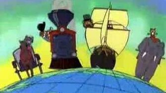 """""""Around the world with Willy Fog"""" (1981) Intro"""