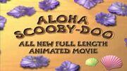 Aloha scooby-doo trailer