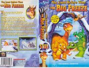The Land Before Time The Big Freeze Australian VHS