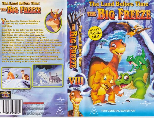 File:The Land Before Time The Big Freeze Australian VHS.jpg