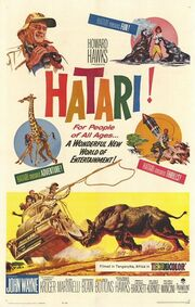 1962 - Hatari! Movie Poster 1