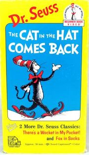 Beginner Book Video The Cat in the Hat Comes Back VHS