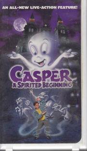 Casper A Spirited Beginning VHS Tape