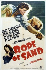 1949 - Rope of Sand Movie Poster