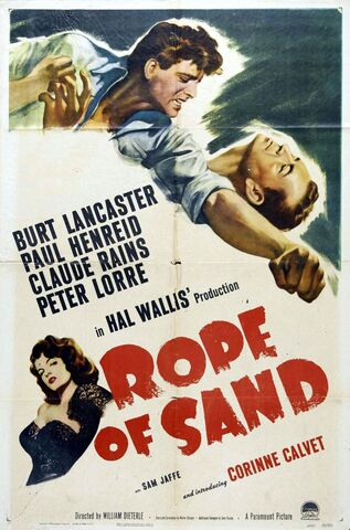 File:1949 - Rope of Sand Movie Poster.jpg