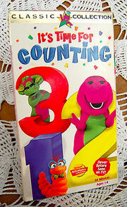 Rare-it-s-time-for-counting-barney-the-dinosaur-vhs-movie-htf-title-classic-58704b9ed3bd79767648ec4b71737007