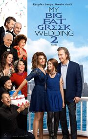 2016 - My Big Fat Greek Wedding 2 Movie Poster