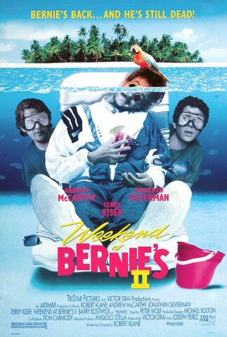 File:1993 - Weekend at Bernie's II Movie Poster.jpg