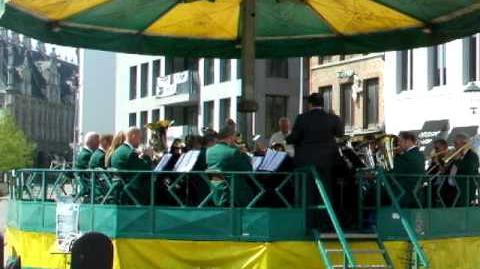 Felison Brass in Mechelen VOBK 18-04-2010 buiten concert
