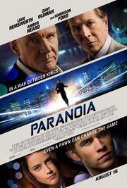 2013 - Paranoia Movie Poster