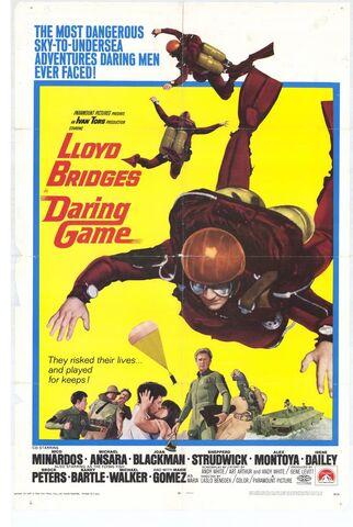 File:1968 - Daring Game Movie Poster.jpg