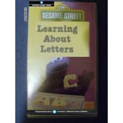 Sesame Street Learning About Letters 1984 UK VHS