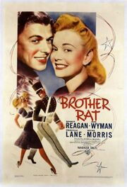 1938 - Brother Rat Movie Poster