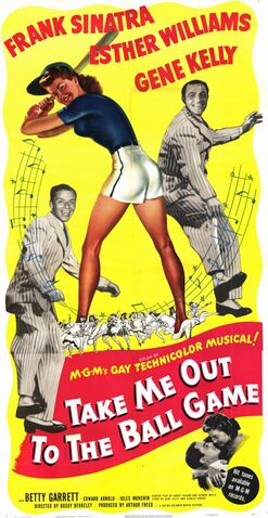 File:1949 - Take Me Out to the Ball Game Movie Poster.jpg