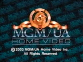 MGM UA Home Video Copyright Screen Roll (2003)