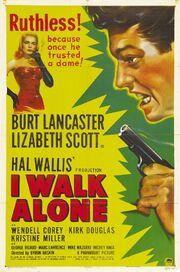 1948 - I Walk Alone Movie Poster