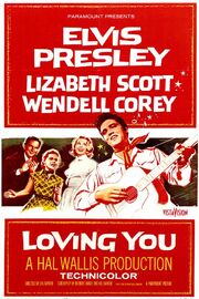 1957 - Loving You Movie Poster