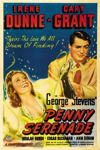 File:1941 - Penny Serenade Movie Poster.jpg