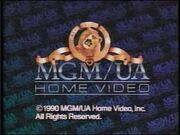 MGM UA Home Video Copyright Scroll 1990