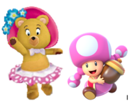 Tessie and Toadette