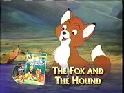 The Fox and the Hound from Walt Disney Gold Classic Collection Promo
