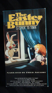 The Easter Bunny is Comin' to Town VHS