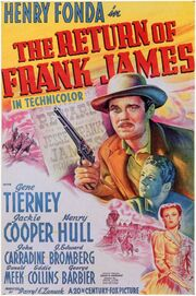 1940 - The Return of Frank James Movie Poster