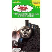 1993 VHS Shining Time Station Thomas Breaks The Rules