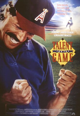 File:1991 - Talent for the Game Movie Poster.jpg