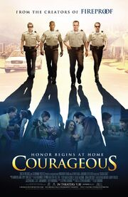 2011 - Courageous Movie Poster