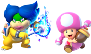 Ludwiga and Toadette