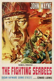 1944 - The Fighting Seabees Movie Poster