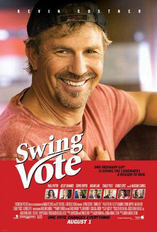 File:2008 - Swing Vote Movie Poster.jpg