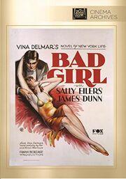 1931 - Bad Girl DVD Cover (2015 Fox Cinema Archives)