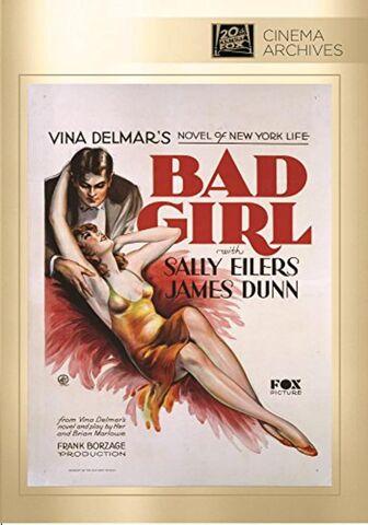 File:1931 - Bad Girl DVD Cover (2015 Fox Cinema Archives).jpg