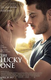 2012 - The Lucky One Movie Poster