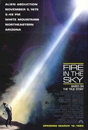 1993 - Fire in the Sky Movie Poster