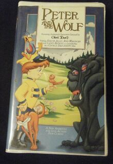 Peter and the wolf vhs
