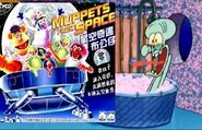 Muppets From Space Stops By and Squidward Screams