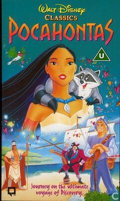 Pocahontas (UK VHS 1996)