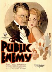 1931 - The Public Enemy Movie Poster