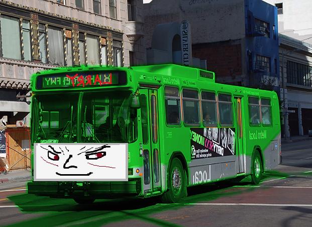 File:Larry the Evil Green Metro Bus.jpg
