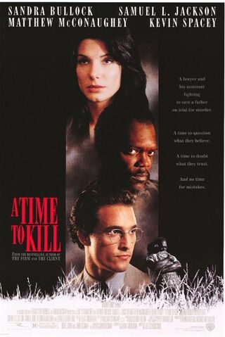File:1996 - A Time to Kill Movie Poster.jpg
