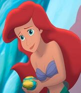 Ariel is Voiced by Jodi Benson from The Little Mermaid