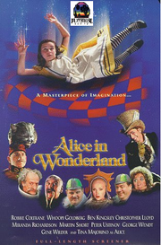 Alice In Wonderland Playhouse VHS